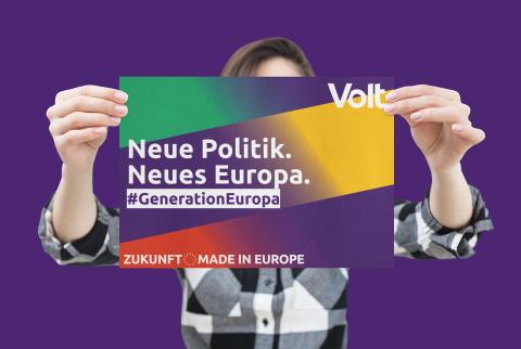 #Generation Europa. Neue Politik. Neues Europa.