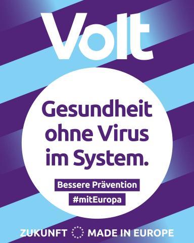 Volt - Gesundheit ohne Virus im System.