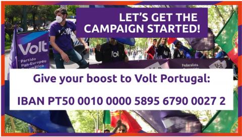 Donation Volt Portugal