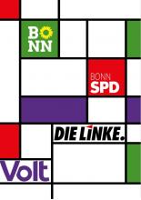 Koalition SPD, Linke, Volt in Bonn