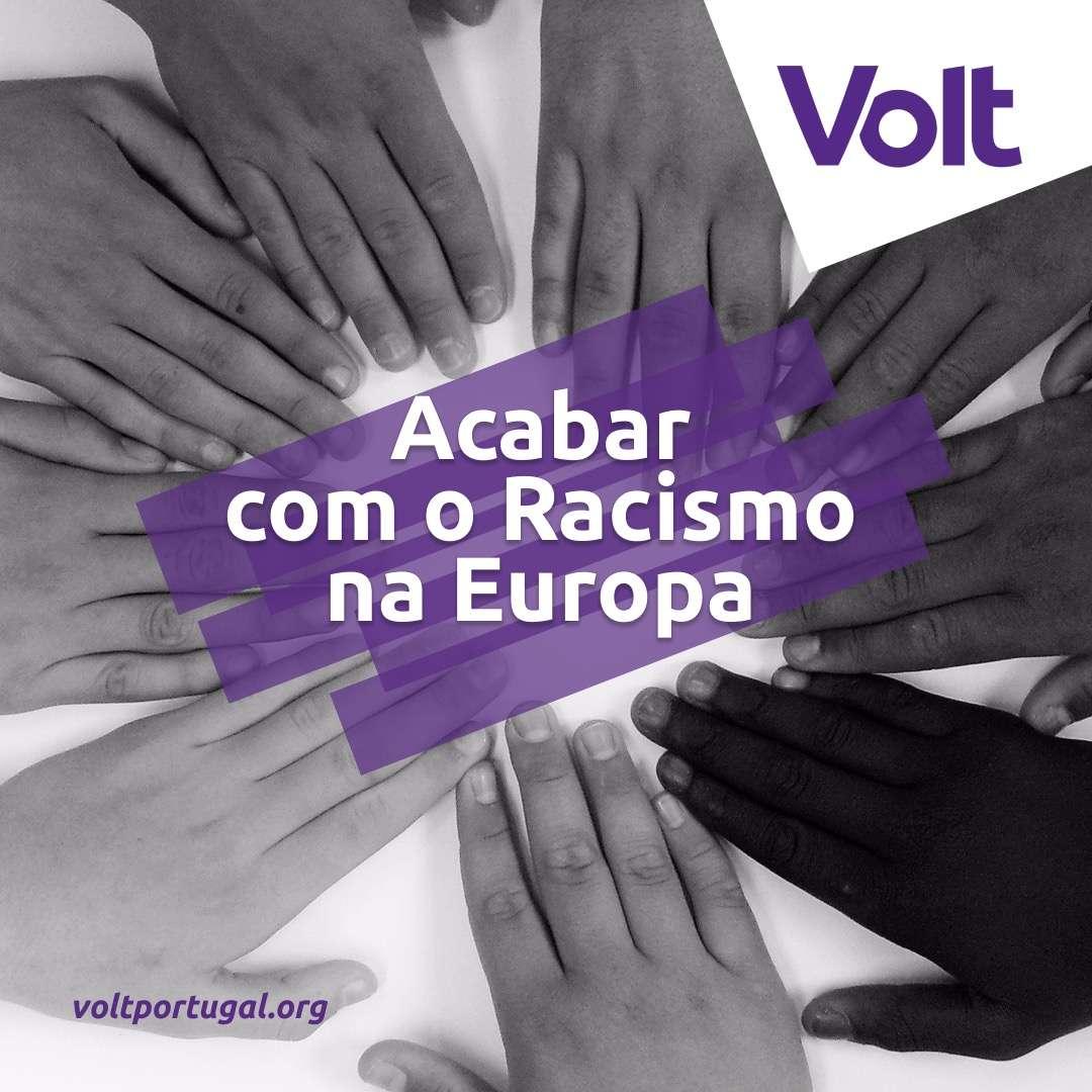acabar com racismo Volt