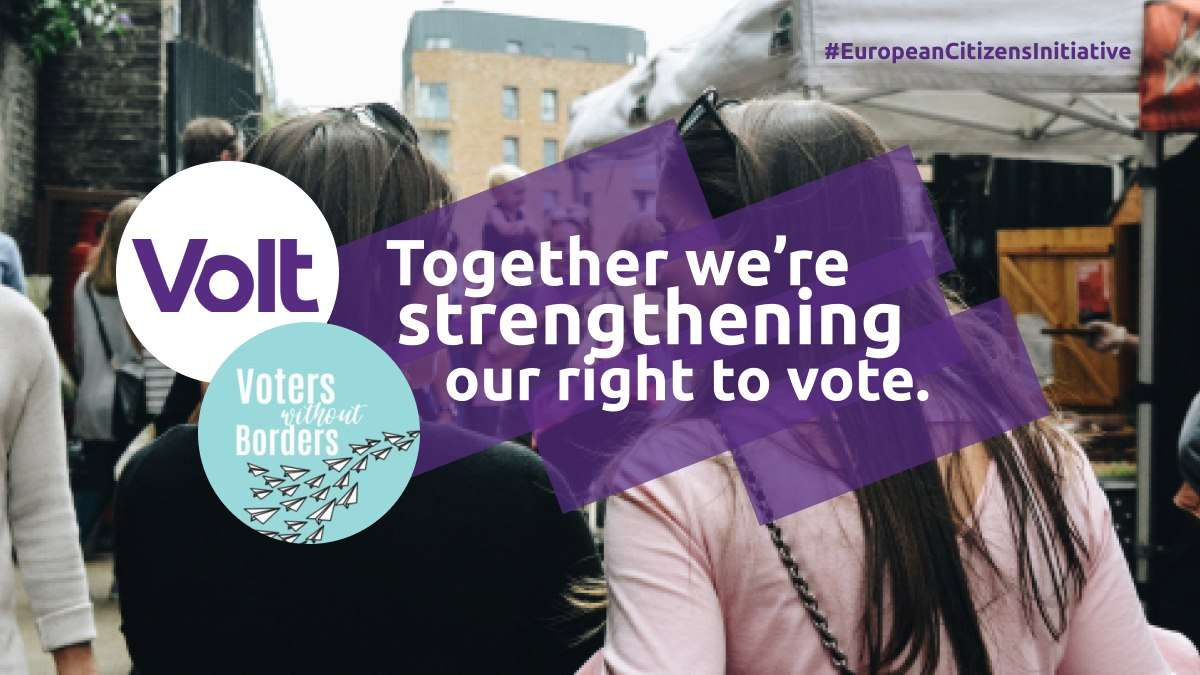 Together we're strenghtening our right to vote.