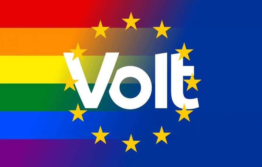 LGBTQ Europa Flagge