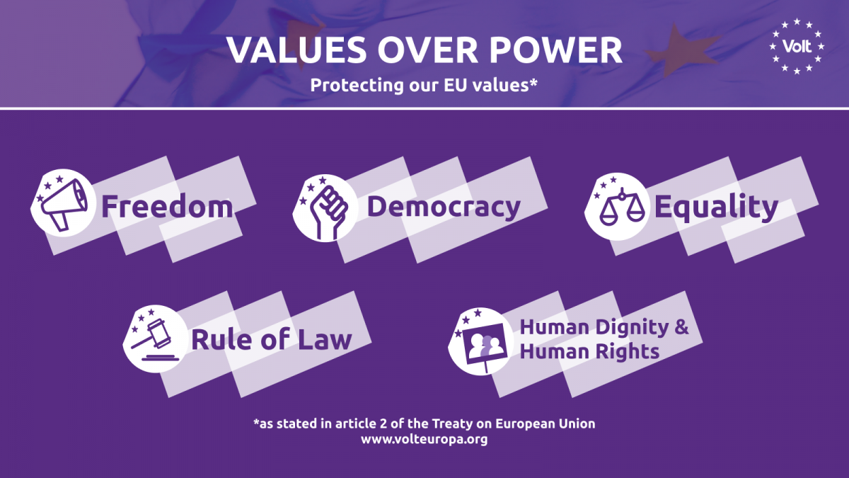 Values over Power