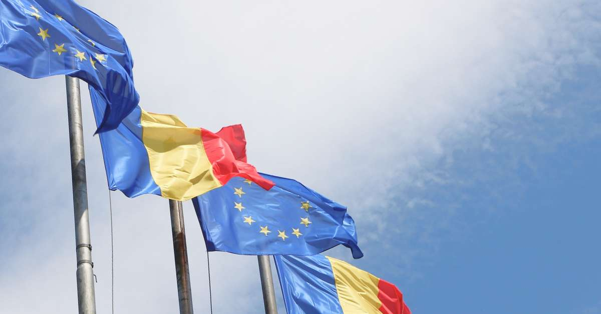 Romania_EU_Flags