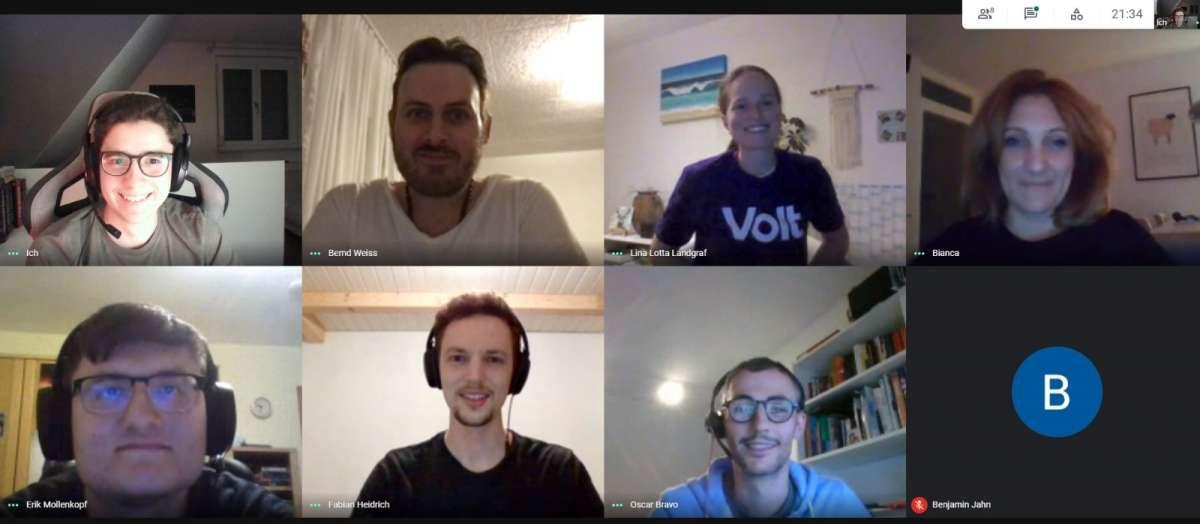 Volt Ludwigsburg Online Meeting