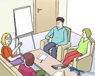 Leichte Sprache - Meeting