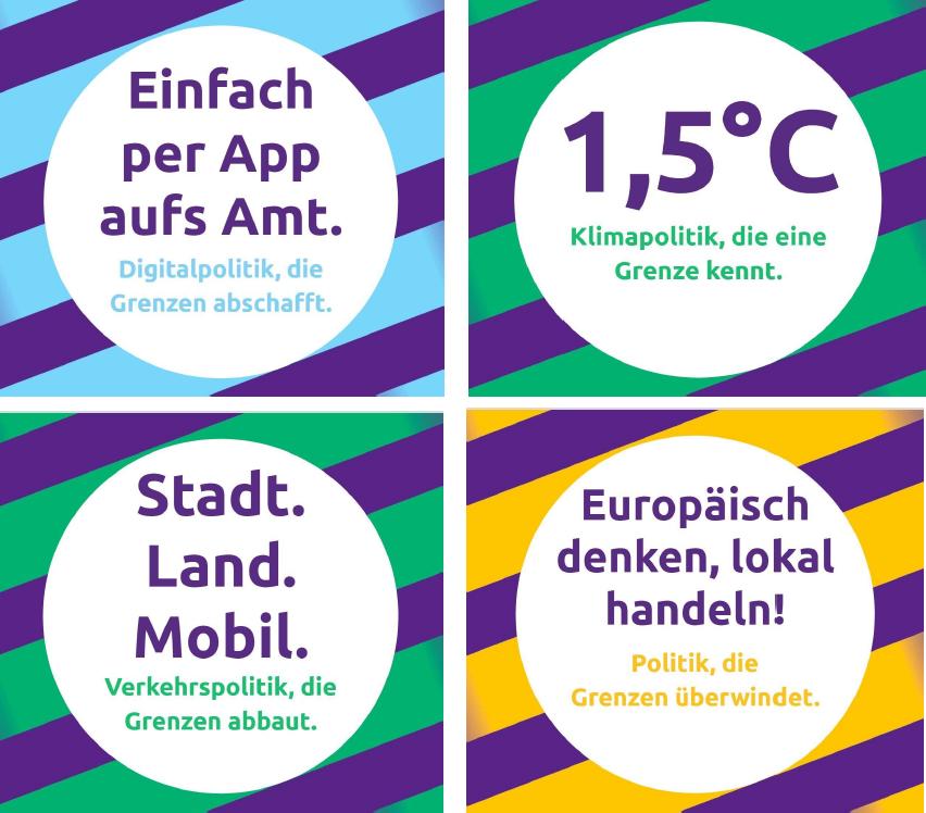 Plakate Landtagswahl 2021
