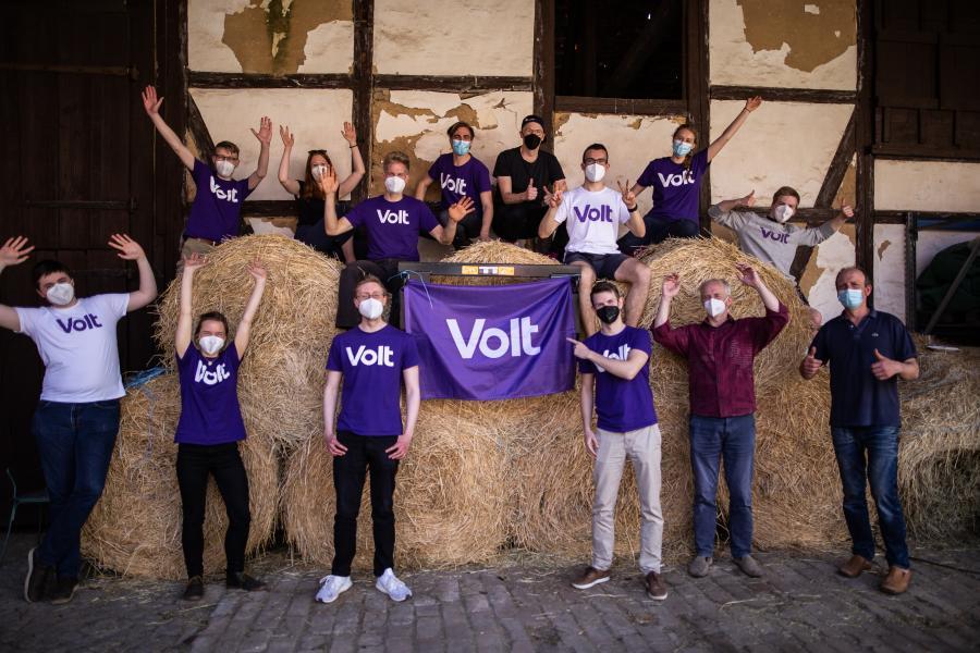 Gruppenfoto Volt Braunschweig
