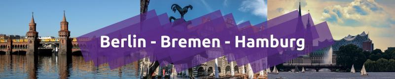 Berlin - Bremen - Hamburg